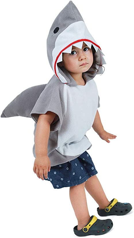 Coco Said Childs Animal Tabard: Shark (One Size(90-120cm, niña ...