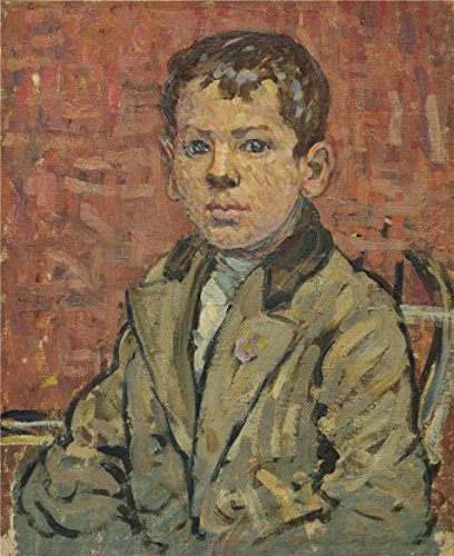 [Oil Painting 'Maurice Brazil Prendergast,Portrait Of A Boy,about 1910-1913' 12 x 15 inch / 30 x 37 cm , on High Definition HD canvas prints is for Gifts And Bar, Dining Room And Home Office] (Dead Poets Society Costume)