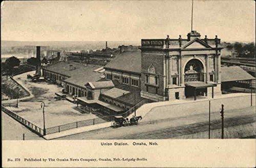 View of Union Station Omaha, Nebraska Original Vintage (View Union)