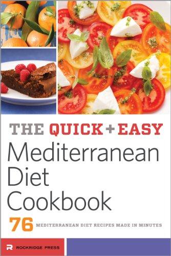 The quick easy mediterranean diet cookbook 76 mediterranean the quick easy mediterranean diet cookbook 76 mediterranean diet recipes made in minutes by forumfinder Images