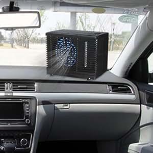 ecmqs ajustable 12 V Auto Mini portátil ventilador de coche camión aire acondicionado Auto ventana ventilación ventilador enfriador: Amazon.es: Oficina y ...