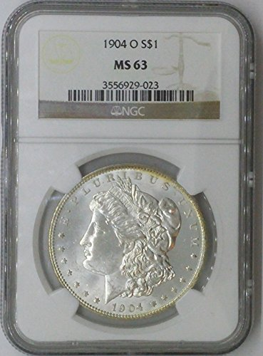 1904 O Morgan $1 MS63 NGC Silver Dollar Old US Coin 90% Silver