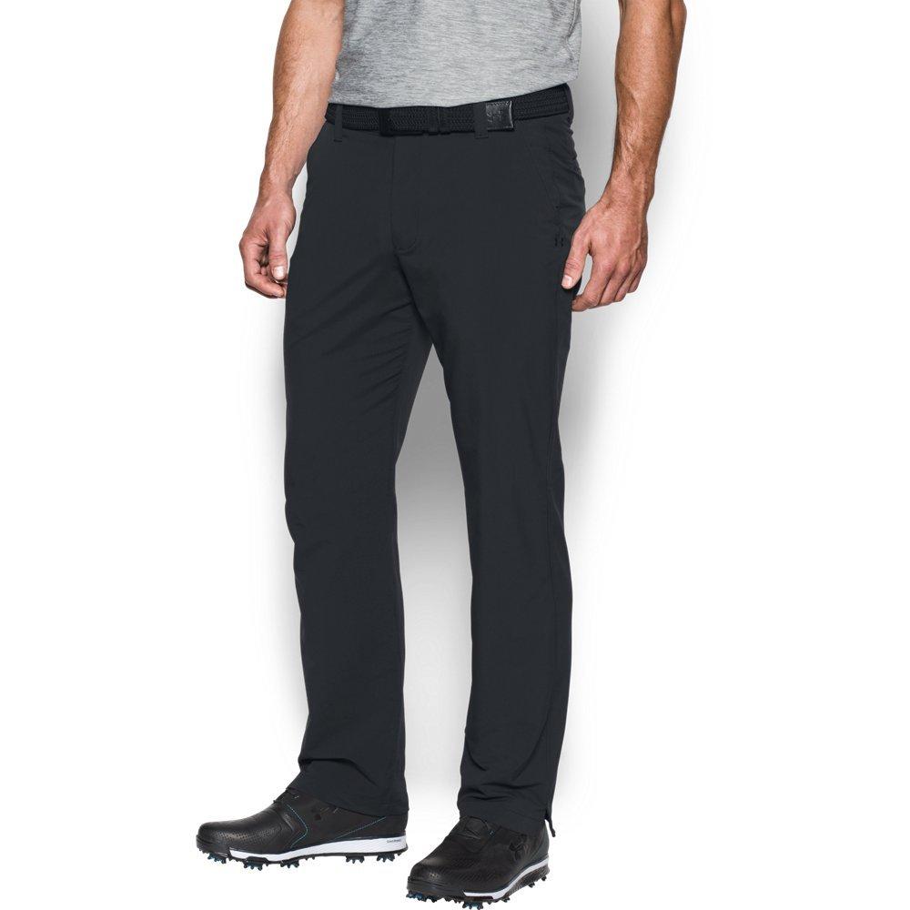 Under Armour Men's Match Play Golf Pants, Black /Black, 30/30