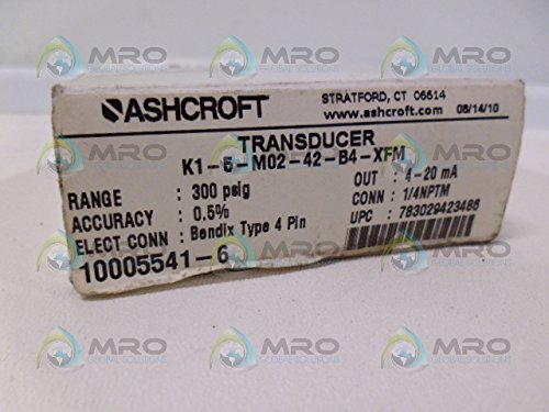 Ashcroft K1-5-M02-42-B4-XFM Transducer New in Box