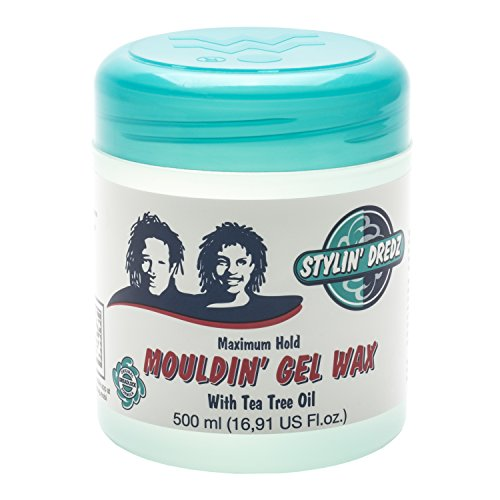 Stylin Dredz Moulding Gel Wax with Tea Tree Oil Hair Care 500 ml Pack of 4