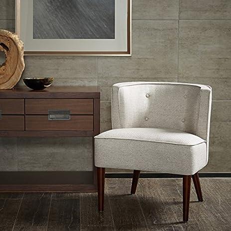 Charming Sierra Off White Accent Chair