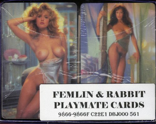 (Playboy Playing Cards -- 2 Decks in Box as shown)