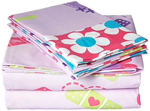 Disney Junior Doc McStuffins 4 Piece Full Sheet Set]()