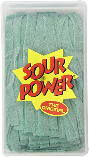 Sour Power Green Apple Belts, 150-Count Tubs (Pack of 2)