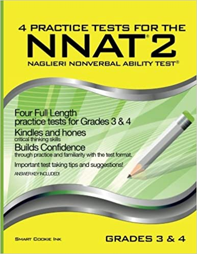 Amazon 4 practice tests for the nnat2 grades 3 4 level d amazon 4 practice tests for the nnat2 grades 3 4 level d four full length practice tests for grade 3 grade 4 practice tests for the nnat2 fandeluxe Gallery