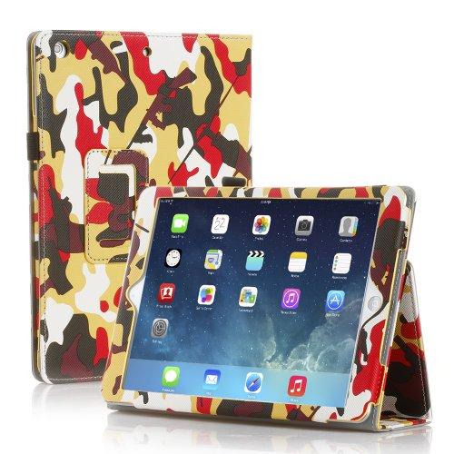 TNP iPad Case Camouflage Yellow