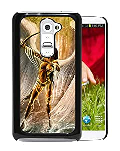 Beautiful And Unique Designed With Cupid Wings Angel Arrow For LG G2 Phone Case