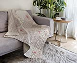 quilted throw polyester - SLPR Walk in the Cotswolds Cotton Real Patchwork Quilted Throw (50
