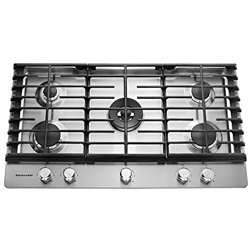 Amazon.com: Cocina Ayuda kcgs556ess kcgs556ess 36 inoxidable ...