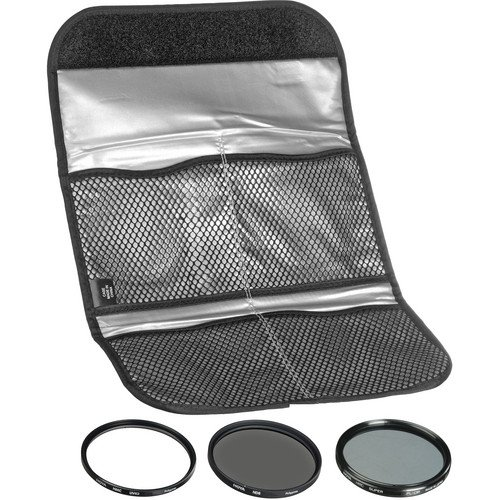Hoya 52mm (HMC UV / Circular Polarizer / ND8) 3 Digital Filter Set with Pouch by Hoya