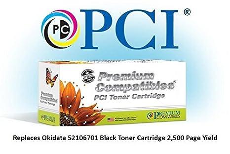 Amazon.com: Tinta reemplazo 52106701-PCI y cartucho de tóner ...