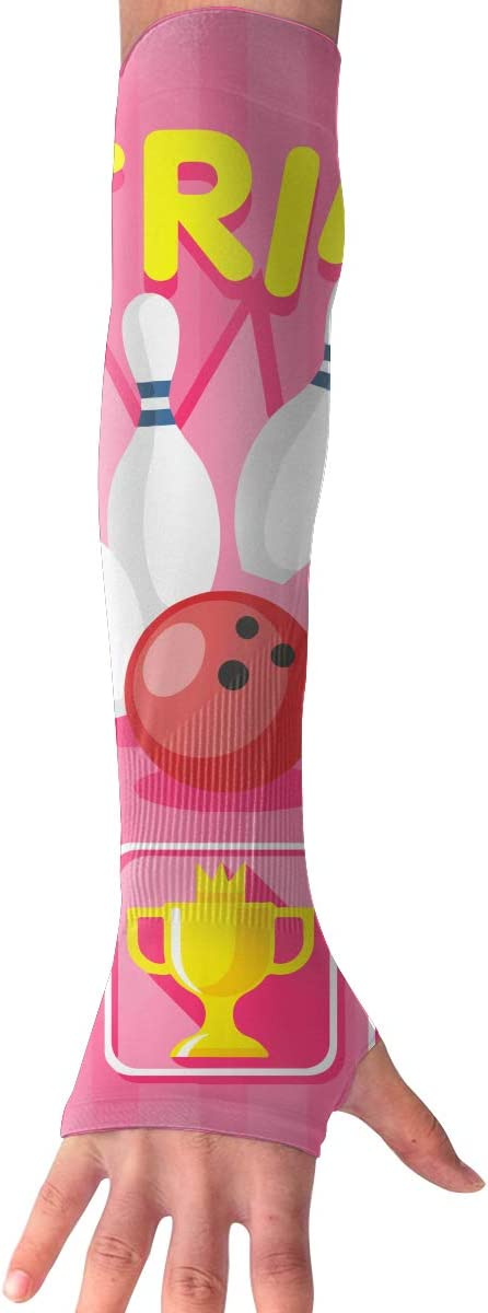 Game Life Strike Bowling UV Sun Protective Outdoors Stretchy Cool Arm Sleeves Warmer Long Fashion Sleeve Glove