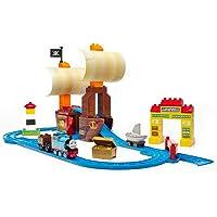 MEGA 美高 益智积木轨道玩具 大颗粒积木&轨道二合一 托马斯之多多岛迷失宝藏CNJ14
