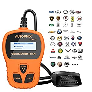 TekKamp OBD2 Car Auto Scanner, 2017 Universal OBDMATE OBDII CAN Hand-held Error Fault Code Reader Analyzer Automotive Scanner Diagnostic Tool