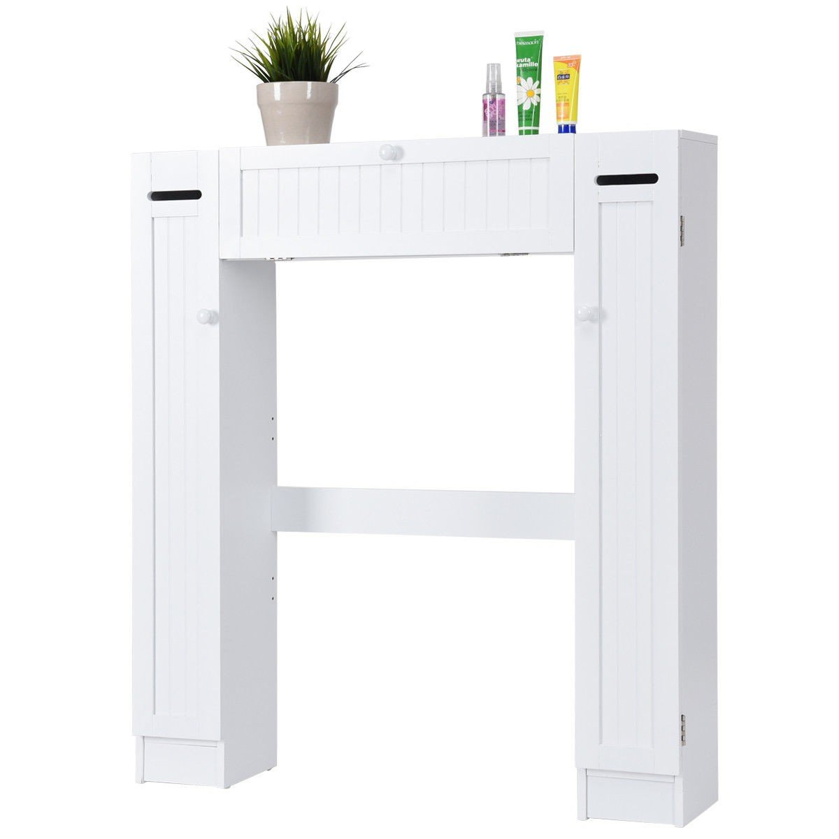 Wooden over the Toilet Storage Cabinet - By Choice Products