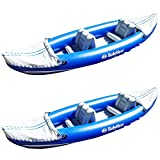 Solstice Whitewater Rapids Rogue 2-Person Convertible Inflatable Kayak