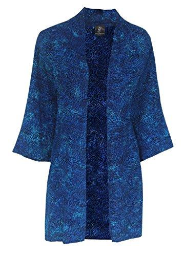 Plus Size Kimono Jacket, Custom Order in Plus Size 2x 3x or 4x, Handmade Batik Kimono Cardigan for Causal Events by Generous Fashions: Women's Handmade Plus Size Clothing XL-4X by Stephen