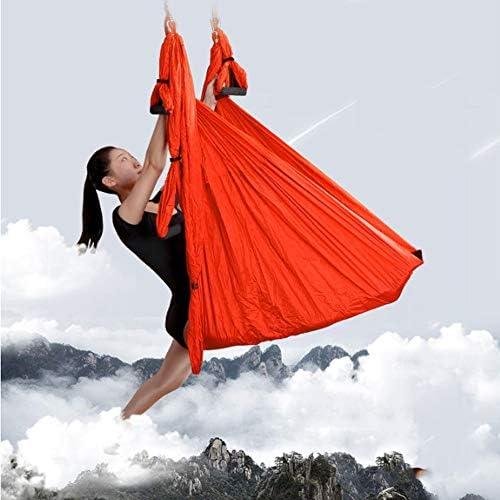ZENWEN Hamaca de Yoga de 6 Asas Sin Estiramiento Tejido de Nisi ...