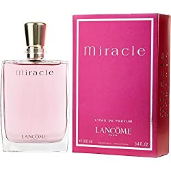L A N C O M E Miracle For Women Edp 3.4 Oz.