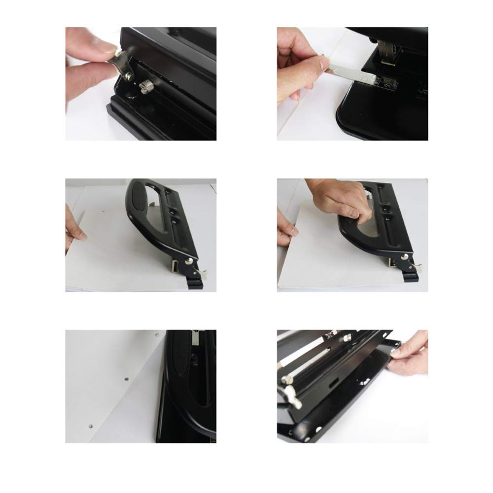 Drilling 30 Pages Manual Punching Machine Office Supplies ...