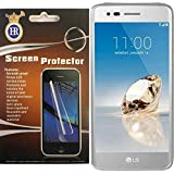 For LG Tribute Dynasty LCD Screen Protector Guard with Cleaning Cloth