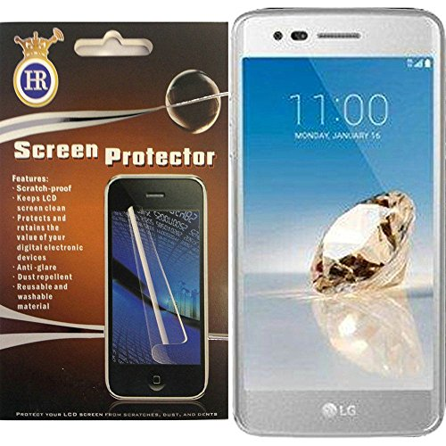 For LG Tribute Dynasty LCD Screen Protector Guard with Cleaning Cloth by MystCase (Image #1)