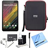 Hewlett Packard 7 G2-1311 J4Y28AA#ABA 7-Inch 8 GB Tablet 16GB Bundle includes HP 7 tablet, 16GB memory card, headphones, stylus pen with clip, cleaning kit, hardshell case and micro fiber cloth