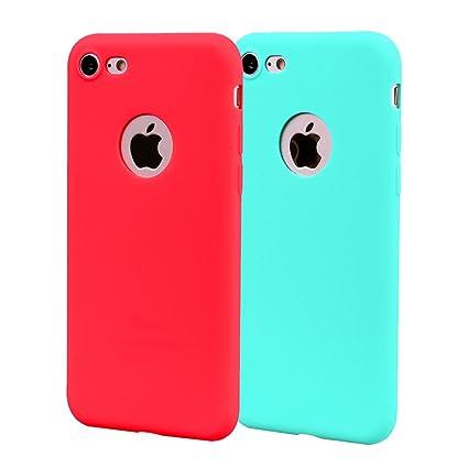Funda iPhone 8, Carcasa iPhone 8 Silicona Gel, OUJD Mate ...