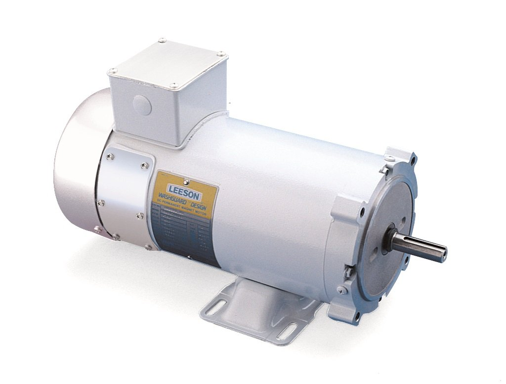 1750 RPM 90 /& 180V Voltage C4D17WK3 56C Frame 1 1//2HP C-Face Rigid Mounting Leeson 108232.00 Washguard Duty DC Motor