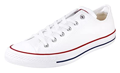 750c2a57d22e Image Unavailable. Image not available for. Color  Converse Chuck Taylor  All Star OX OPTICAL WHITE(Size  8.5 US Mens)