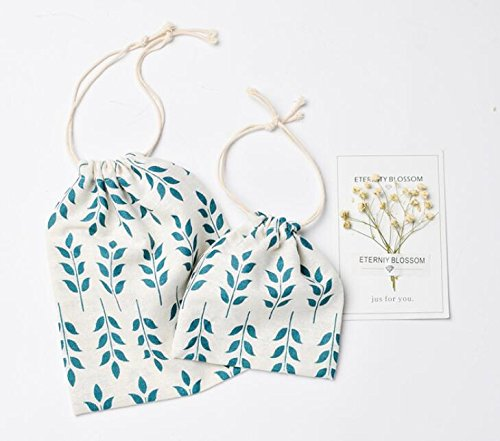 Higere 1Pc Bunch Pocket Bag Beam Mouth Sack Drawstring Candy Gift Wrap Package (S) by Higere (Image #3)