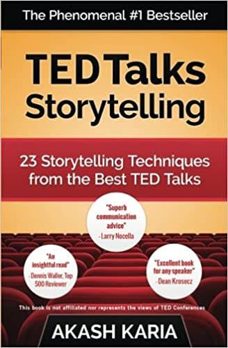 Descargar Ted Talks Storytelling: 23 Storytelling Techniques From The Best Ted Talks Epub