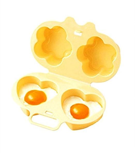 Baonmy escalfador de Huevos para microondas fácil de Huevos para ...