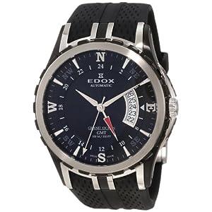 Edox Men's 93004 357N NIN Automatic GMT Grand Ocean Watch