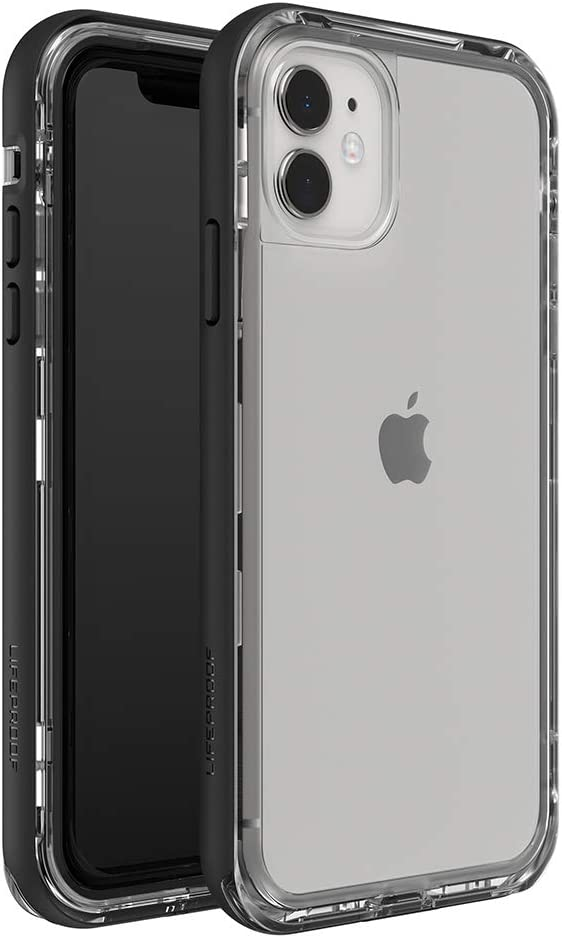 LifeProof NEXT SERIES Case for iPhone 11 - BLACK CRYSTAL (CLEAR/BLACK)