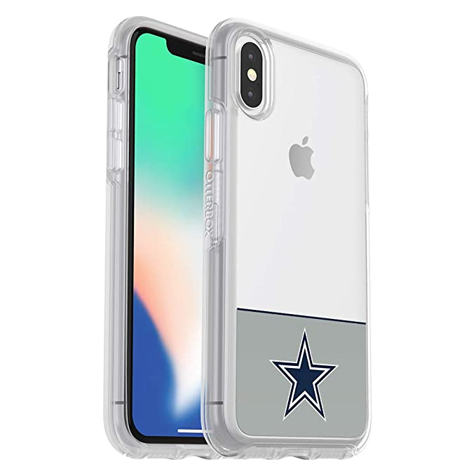 c6f2b8c076 Image Unavailable. Image not available for. Color: OtterBox NFL Symmetry  Series Case for iPhone Xs & iPhone X - Retail Packaging ...