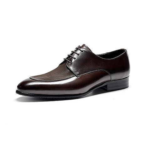 CATEER New Look Oxford Hombres Zapatos Traje de Gama Alta ...