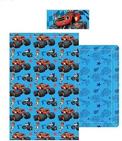Nickelodeon–Set lenzuola Blaze and the Monster Machines, per letto 90cms.