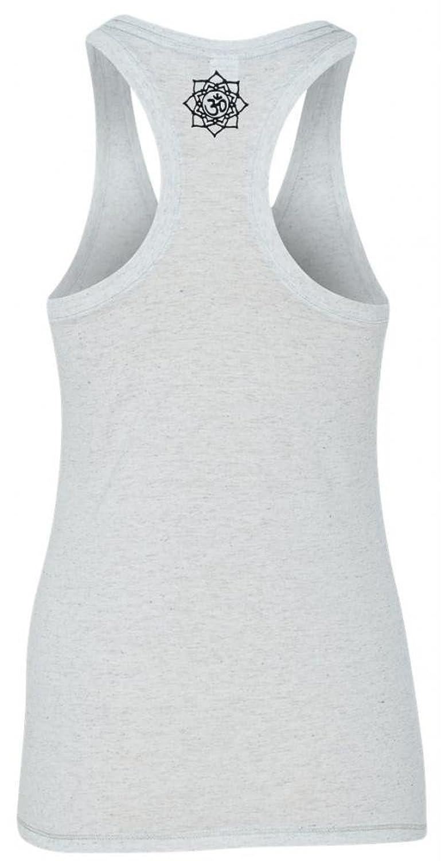 Yoga Clothing For You Ladies Lotus OM Racerback Tank Top