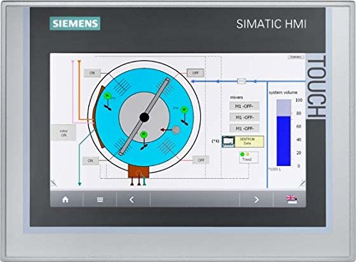 Siemens 6AV2124-0GC01-0AX0 SIMATIC HMI TP700 COMFORT, COMFORT PANEL, TOUCH OPERATION, 7