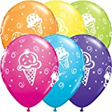 "11"" Ice Cream Treats Around Latex Balloons (10ct)"