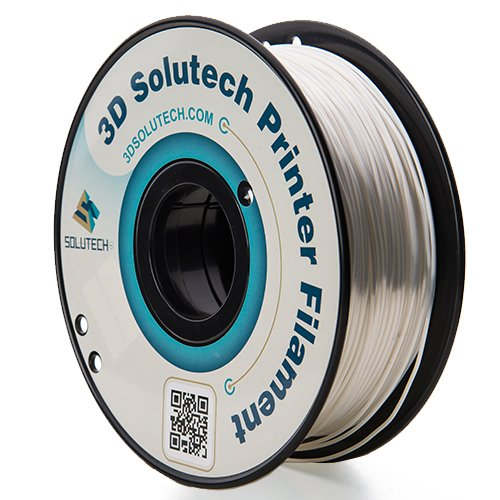 3D Solutech White 3D Printer Ultra PLA Filament 1.75MM Filament, Dimensional Accuracy +/- 0.03 mm, 2.2 LBS (1.0KG) - 3DSUPLA175WHT (Examples Of Positive Feedback On Work Performance)