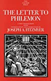 The Letter to Philemon, Fitzmyer, Joseph A., 030014055X