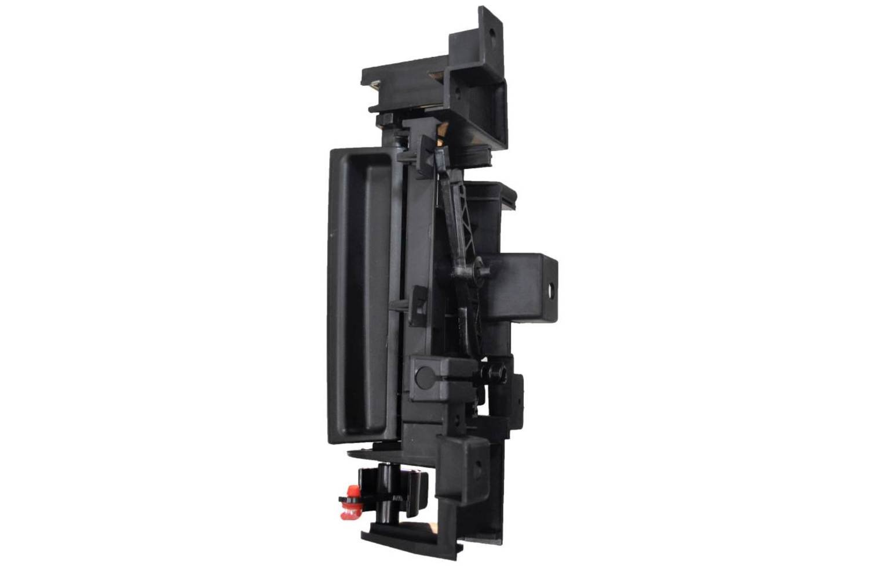 Black Lever Interior Inner Inside Sliding Door Handle PT Auto Warehouse CH-2905A-RL Driver Side Rear