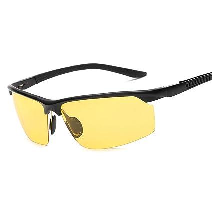 Gafas sol Polarizadas Deportes para Hombres Gafas de Conducción Espejo de Equitación Y Gafas de Visión